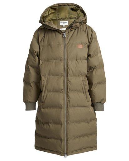 4 Northern - Jacke für Frauen Grün Q3JK06BIF9 Billabong