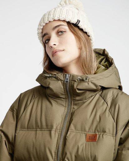 3 Northern - Jacke für Frauen Grün Q3JK06BIF9 Billabong