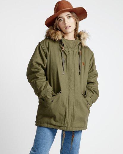 1 Westwood - Jacke für Frauen Grün Q3JK08BIF9 Billabong