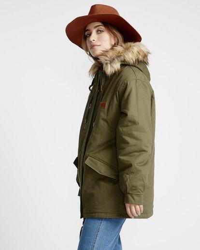 2 Westwood - Jacke für Frauen Grün Q3JK08BIF9 Billabong