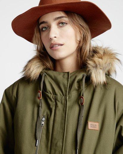 3 Westwood - Jacke für Frauen Grün Q3JK08BIF9 Billabong