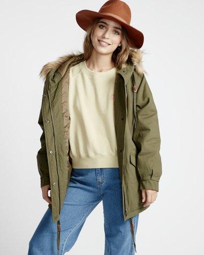 5 Westwood - Jacke für Frauen Grün Q3JK08BIF9 Billabong