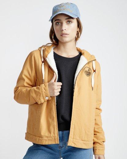 4 Harlem - Jacke für Frauen Gelb Q3JK09BIF9 Billabong