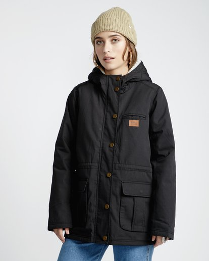 2 Facil Iti - Jacke für Frauen Schwarz Q3JK11BIF9 Billabong