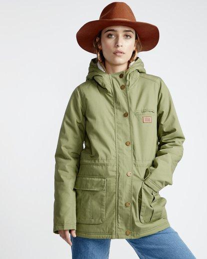 1 Facil Iti - Jacke für Frauen Grün Q3JK11BIF9 Billabong