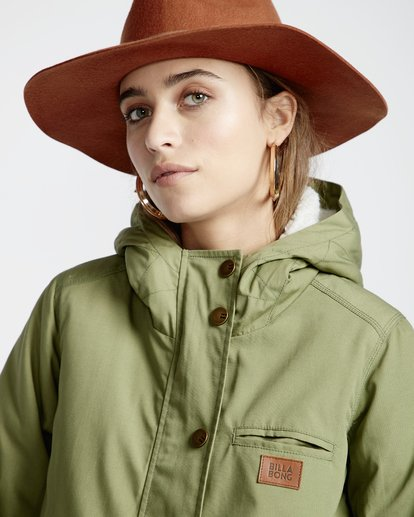 2 Facil Iti - Jacke für Frauen Grün Q3JK11BIF9 Billabong