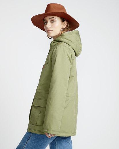 3 Facil Iti - Jacke für Frauen Grün Q3JK11BIF9 Billabong