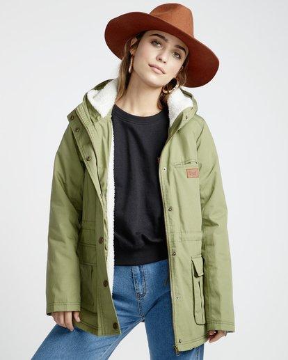 4 Facil Iti - Jacke für Frauen Grün Q3JK11BIF9 Billabong