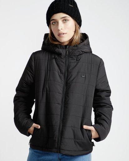 2 Transport - Stepp-Jacke für Frauen Schwarz Q3JK13BIF9 Billabong