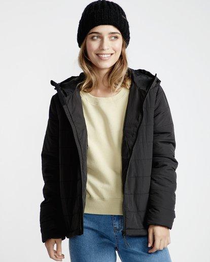 7 Transport - Stepp-Jacke für Frauen Schwarz Q3JK13BIF9 Billabong