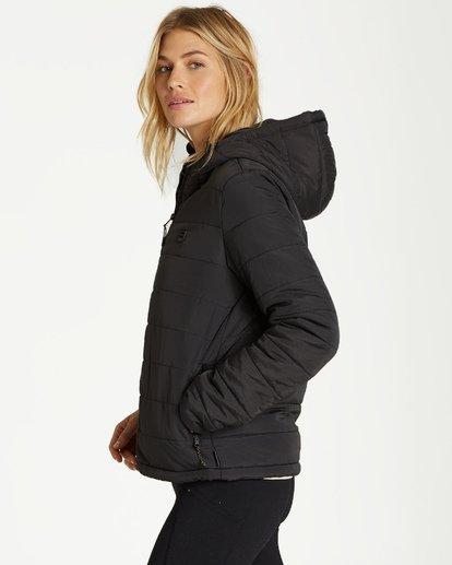 7 Transport - Puffer Jacket for Women Black Q3JK13BIF9 Billabong
