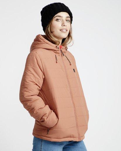 3 Transport - Stepp-Jacke für Frauen  Q3JK13BIF9 Billabong