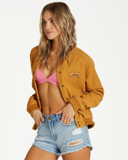 4 This Way - Jacket for Women Yellow Q3JK17BIF9 Billabong