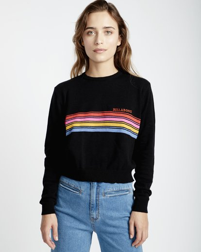1 Forever Good - Pullover für Frauen Schwarz Q3JP01BIF9 Billabong