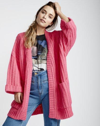 2 True Life - Pullover für Frauen Rosa Q3JP09BIF9 Billabong