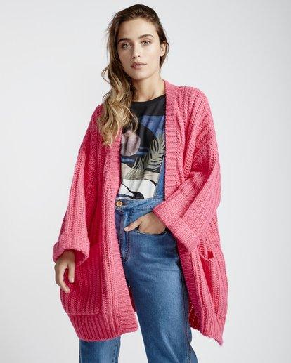 4 True Life - Pullover für Frauen Rosa Q3JP09BIF9 Billabong