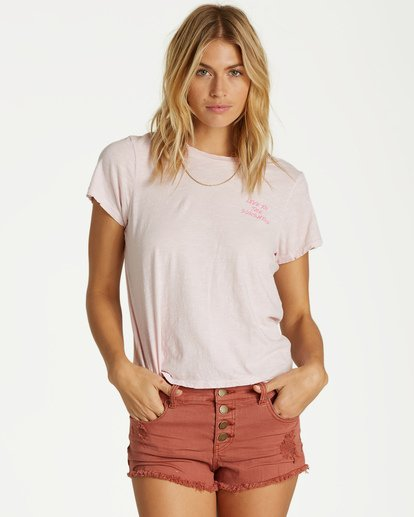 1 It Matters - T-Shirt für Frauen Rosa Q3KT50BIMU Billabong