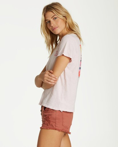 2 It Matters - T-Shirt für Frauen Rosa Q3KT50BIMU Billabong