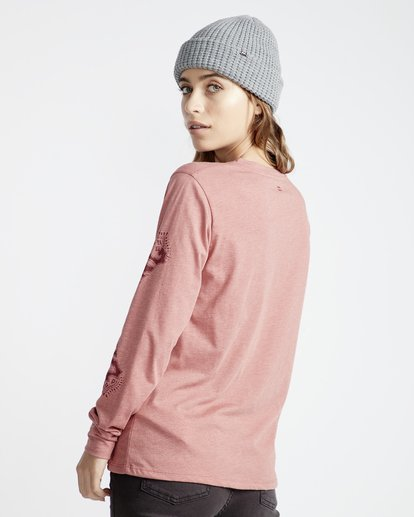 5 High Tide - Camiseta para Mujer Rosa Q3LS05BIF9 Billabong