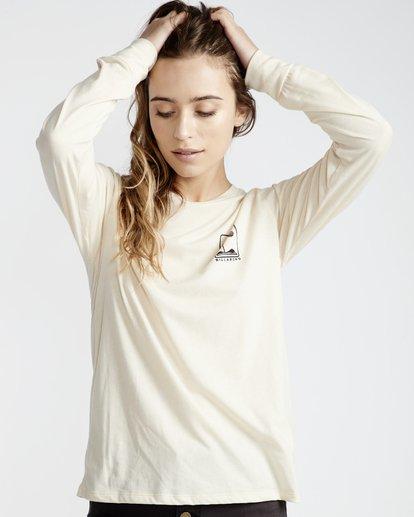 1 High Tide - T-Shirt für Frauen Weiss Q3LS05BIF9 Billabong