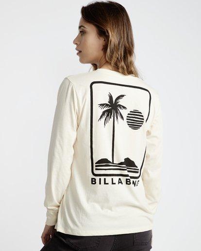 2 High Tide - T-Shirt für Frauen Weiss Q3LS05BIF9 Billabong