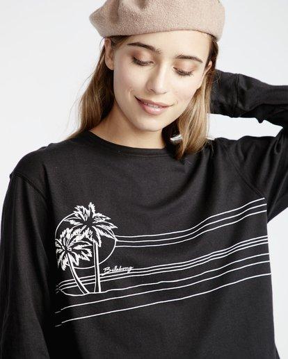 2 Play Time - T-Shirt für Frauen Schwarz Q3LS06BIF9 Billabong