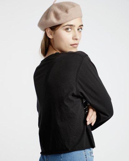 3 Play Time - T-Shirt für Frauen Schwarz Q3LS06BIF9 Billabong