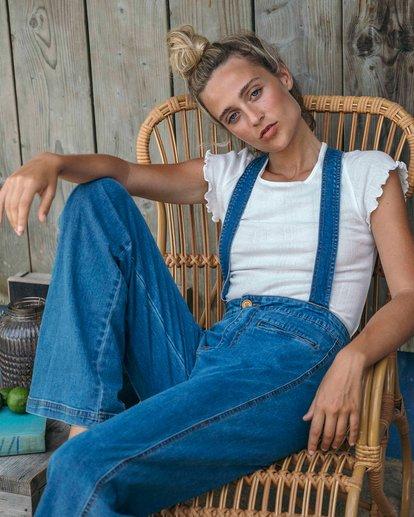 0 High Of Summer - Pantalón para Mujer Azul Q3PN02BIF9 Billabong