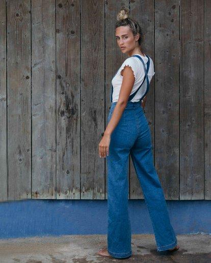1 High Of Summer - Pantalón para Mujer Azul Q3PN02BIF9 Billabong