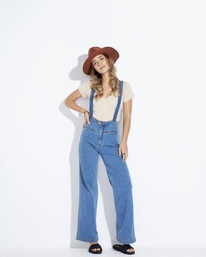 2 High Of Summer - Pantalón para Mujer Azul Q3PN02BIF9 Billabong