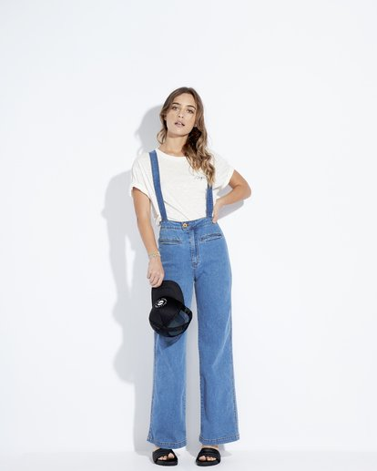3 High Of Summer - Pantalón para Mujer Azul Q3PN02BIF9 Billabong