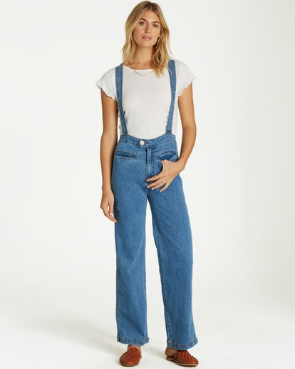 4 High Of Summer - Pantalón para Mujer Azul Q3PN02BIF9 Billabong