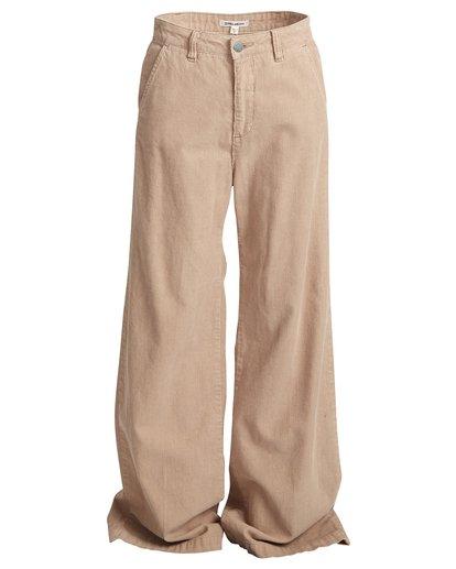 6 Fluffy - Hose für Frauen Beige Q3PT02BIF9 Billabong