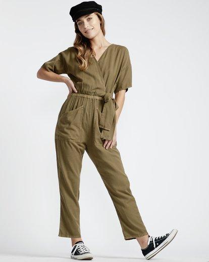 7 High Flyer - Hose für Frauen Grün Q3PT10BIF9 Billabong
