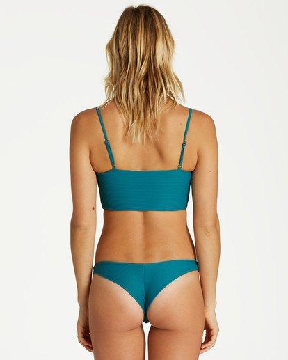 2 Tanlines Tanga - Braguita de Bikini para Mujer Azul Q3SB07BIF9 Billabong