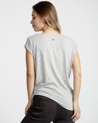 3 All Night - T-Shirt für Frauen Grau Q3SS03BIF9 Billabong