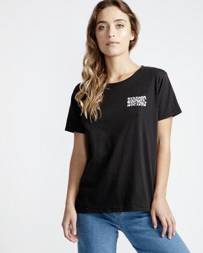0 First - T-Shirt für Frauen Schwarz Q3SS05BIF9 Billabong