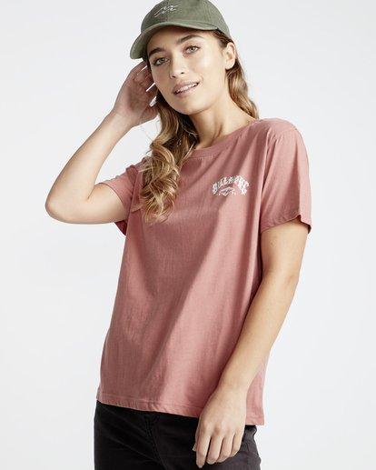 0 First - T-Shirt für Frauen Rosa Q3SS05BIF9 Billabong