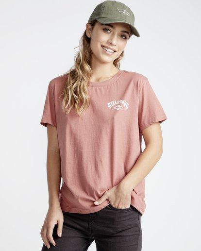 1 First - T-Shirt für Frauen Rosa Q3SS05BIF9 Billabong