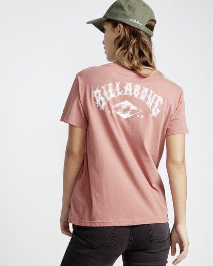3 First - T-Shirt für Frauen Rosa Q3SS05BIF9 Billabong