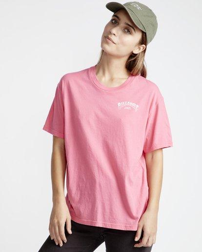 1 Frenchs - French Tees T-Shirt für Frauen Rosa Q3SS07BIF9 Billabong