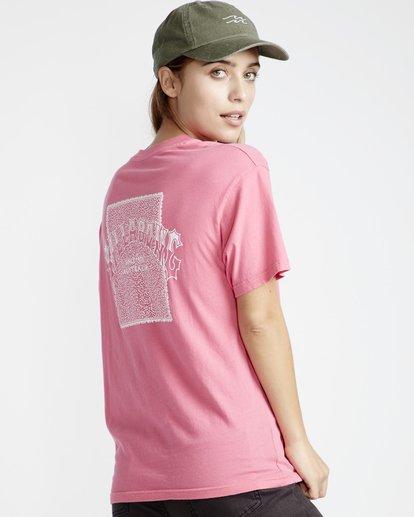 2 Frenchs - French Tees T-Shirt für Frauen Rosa Q3SS07BIF9 Billabong