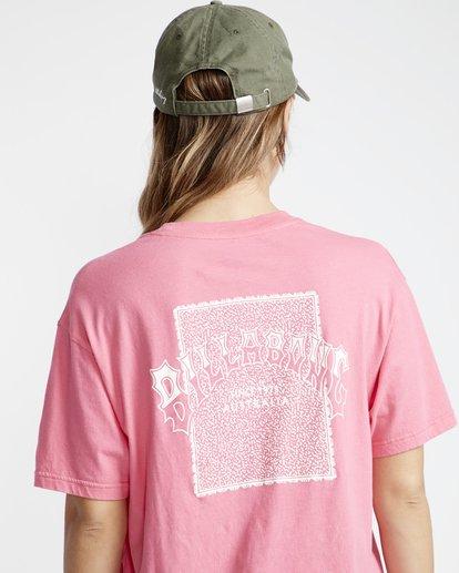 3 Frenchs - French Tees T-Shirt für Frauen Rosa Q3SS07BIF9 Billabong