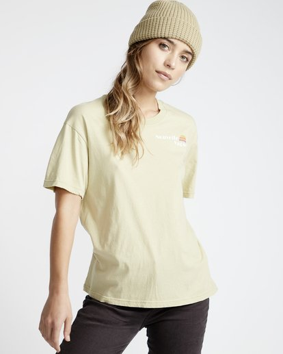 0 Frenchs - French Tees T-Shirt für Frauen Grün Q3SS07BIF9 Billabong