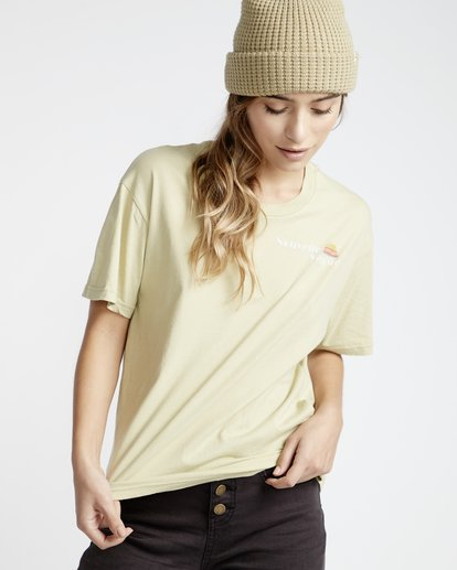 1 Frenchs - French Tees T-Shirt für Frauen Grün Q3SS07BIF9 Billabong