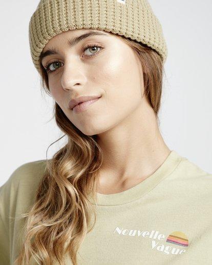 2 Frenchs - French Tees T-Shirt für Frauen Grün Q3SS07BIF9 Billabong
