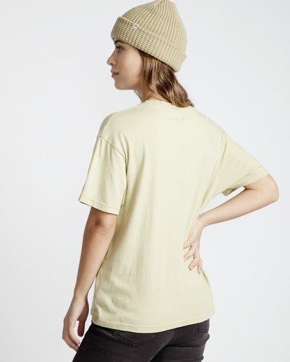 3 Frenchs - French Tees T-Shirt für Frauen Grün Q3SS07BIF9 Billabong