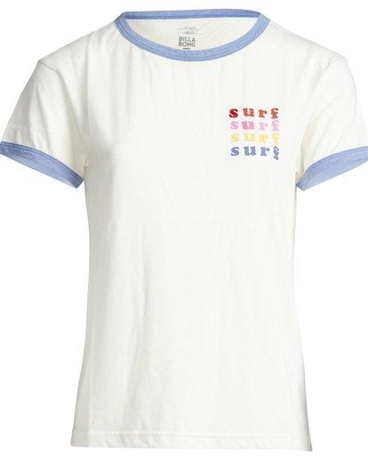 6 Ringer - T-Shirt für Frauen  Q3SS08BIF9 Billabong