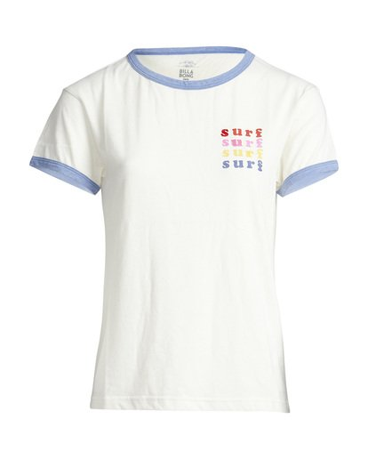 5 Ringer - T-Shirt für Frauen  Q3SS08BIF9 Billabong