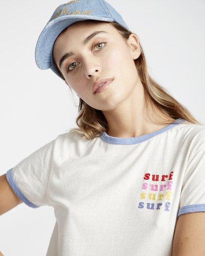 3 Ringer - T-Shirt für Frauen  Q3SS08BIF9 Billabong